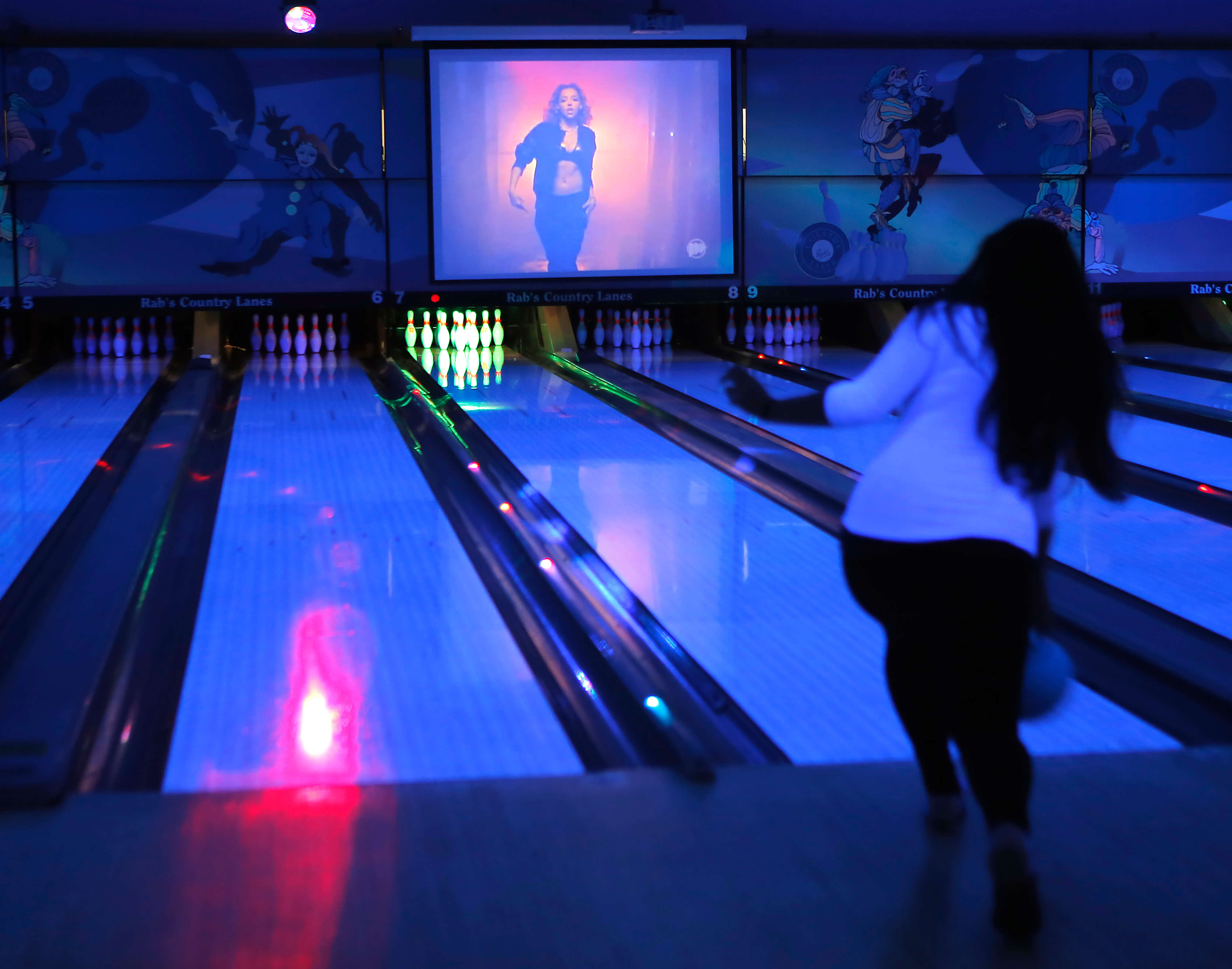 Cosmic Bowling In Staten Island