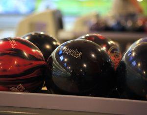 Bowling Balls at Rab's Country Lanes