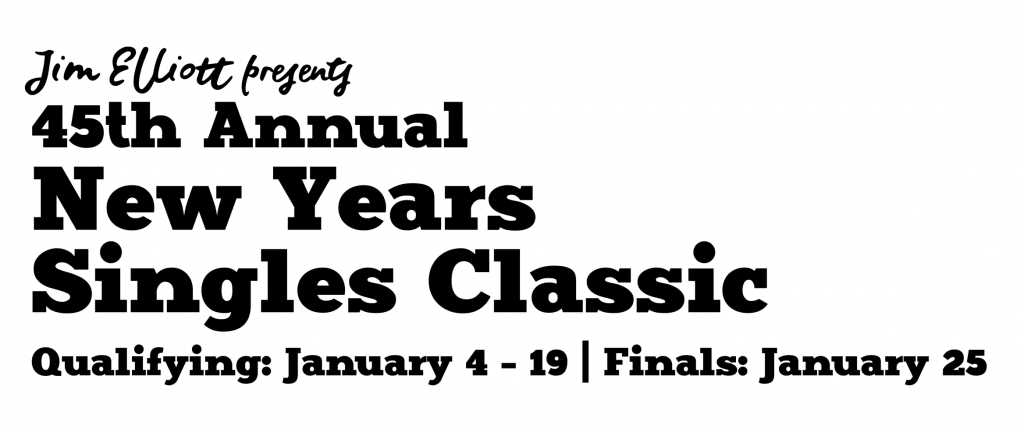 45th Annual New Years Singles Classic