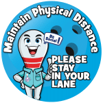 Maintain Physical Distance Signage